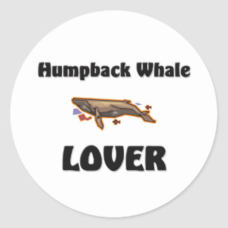 Amante de la ballena jorobada etiquetas