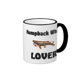 Amante de la ballena jorobada taza