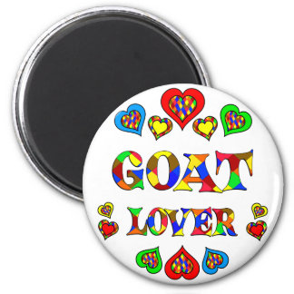 Amante de la cabra imán