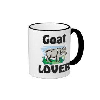 Amante de la cabra taza de café