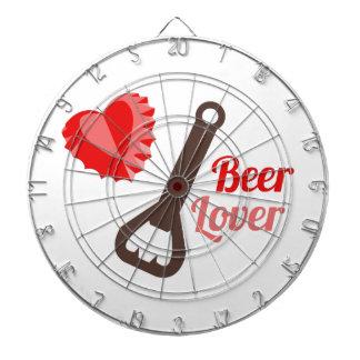 Amante de la cerveza tablero dardos