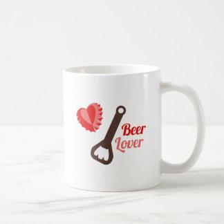 Amante de la cerveza tazas de café