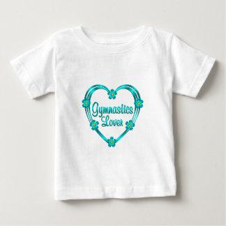 Amante de la gimnasia camisas