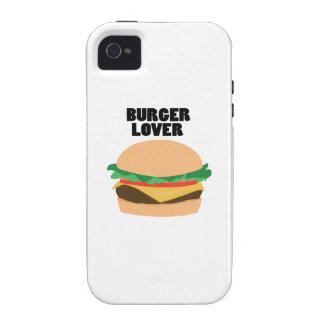 Amante de la hamburguesa iPhone 4/4S carcasa