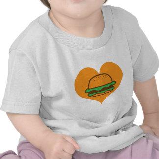 Amante de la hamburguesa camisetas