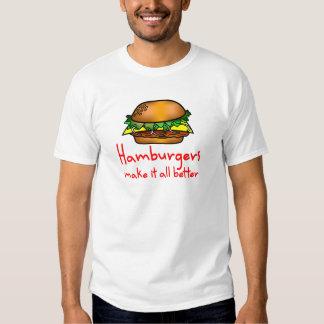 Amante de la hamburguesa poleras