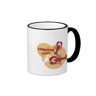 Amante de la langosta taza de café