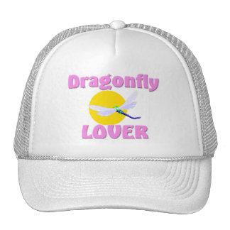 Amante de la libélula gorras