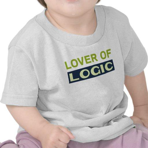 Amante de la lógica camiseta