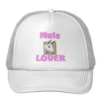 Amante de la mula gorro de camionero