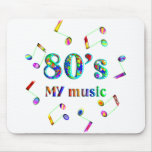 amante de la música 80s alfombrilla de ratones