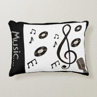 Amante de la música cojín