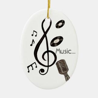 Amante de la música adorno para reyes