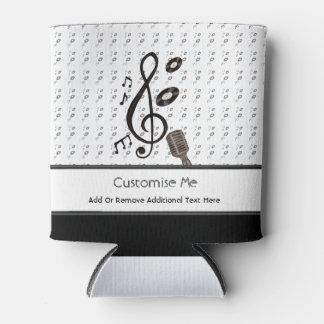 Amante de la música enfriador de latas