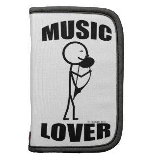 Amante de la música organizadores
