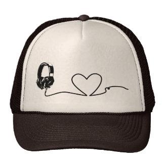 Amante de la música gorras