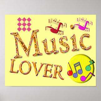 Amante de la música - poster