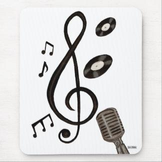 Amante de la música tapete de raton