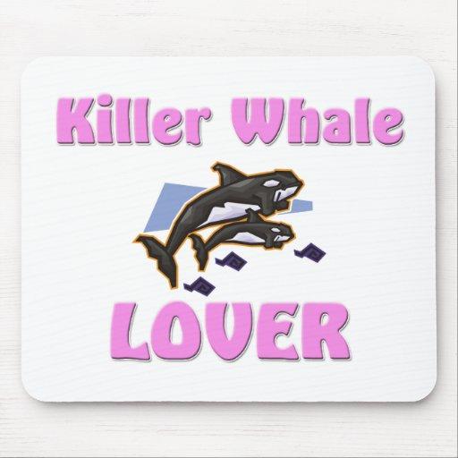Amante de la orca alfombrillas de ratón