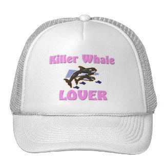 Amante de la orca gorro de camionero