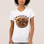 Amante de la pizza camiseta