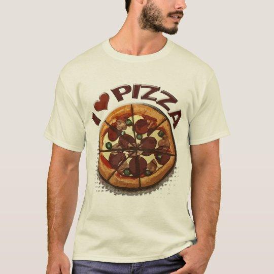 Amante de la pizza playera