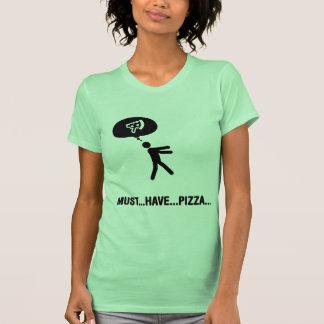 Amante de la pizza playeras