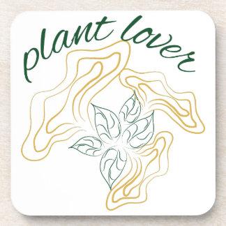 Amante de la planta posavasos de bebidas