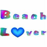 Amante de la playa esculturas fotograficas