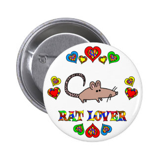 Amante de la rata pin