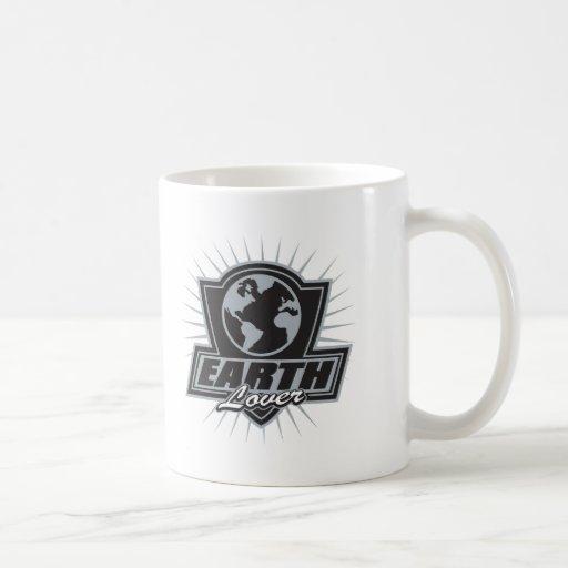 Amante de la tierra taza de café