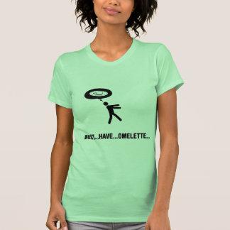 Amante de la tortilla camisetas