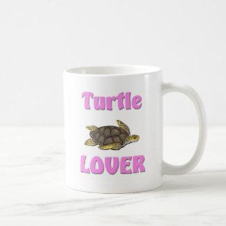 Amante de la tortuga taza