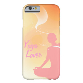 Amante de la yoga funda de iPhone 6 barely there