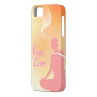 Amante de la yoga funda para iPhone SE/5/5s