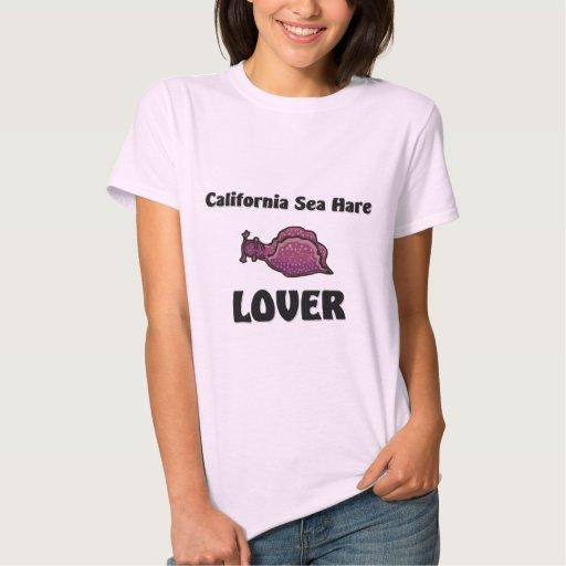 Amante de las liebres de mar de California Playera