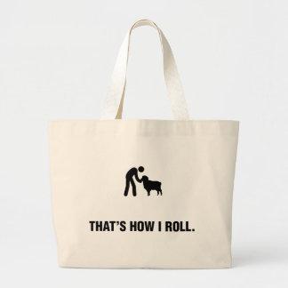 Amante de las ovejas bolsas de mano