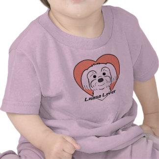Amante de Lasa Apso Camiseta