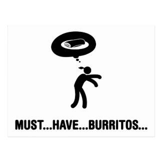 Amante de los Burritos Tarjetas Postales