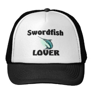 Amante de los peces espadas gorra