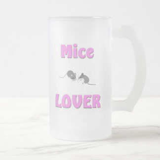 Amante de los ratones taza