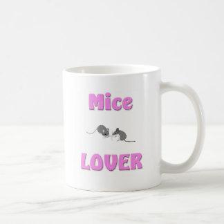 Amante de los ratones taza de café