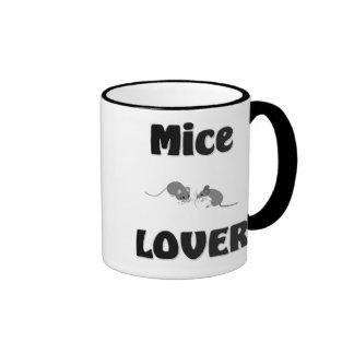 Amante de los ratones tazas de café