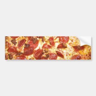 Amante de los salchichones y de la pizza de salchi pegatina para auto