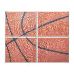 Amante de los texture_Hoops de Spirit_Basketball d Impresión En Lona Estirada