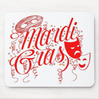 Amante de Mousepad-Mardi Gras Alfombrilla De Ratones