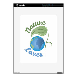 Amante de naturaleza calcomanías para el iPad