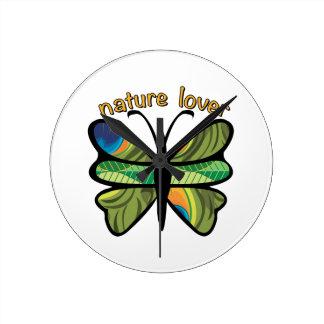 Amante de naturaleza reloj