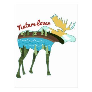 Amante de naturaleza postales