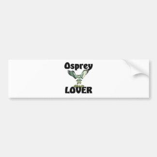 Amante de Osprey Pegatina Para Auto